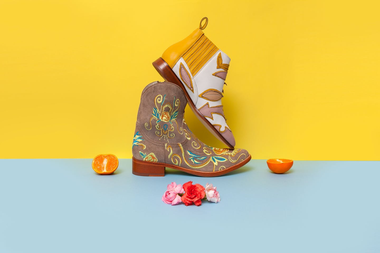Women's cowboy boots Melvin & Hamilton