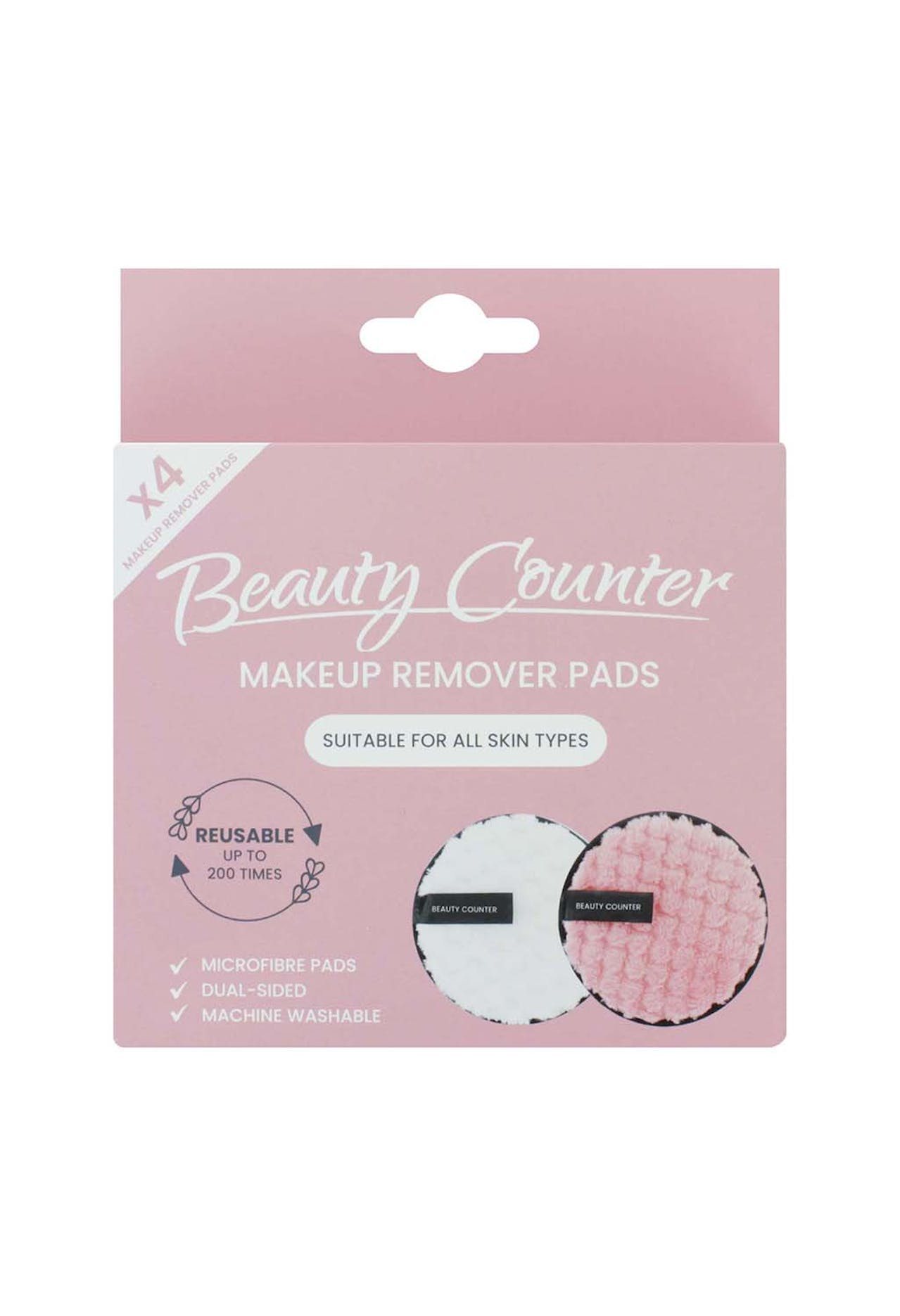 BEAUTY COUNTER MICROFIBRE MAKEUP REMOVER PADS 4 PACK