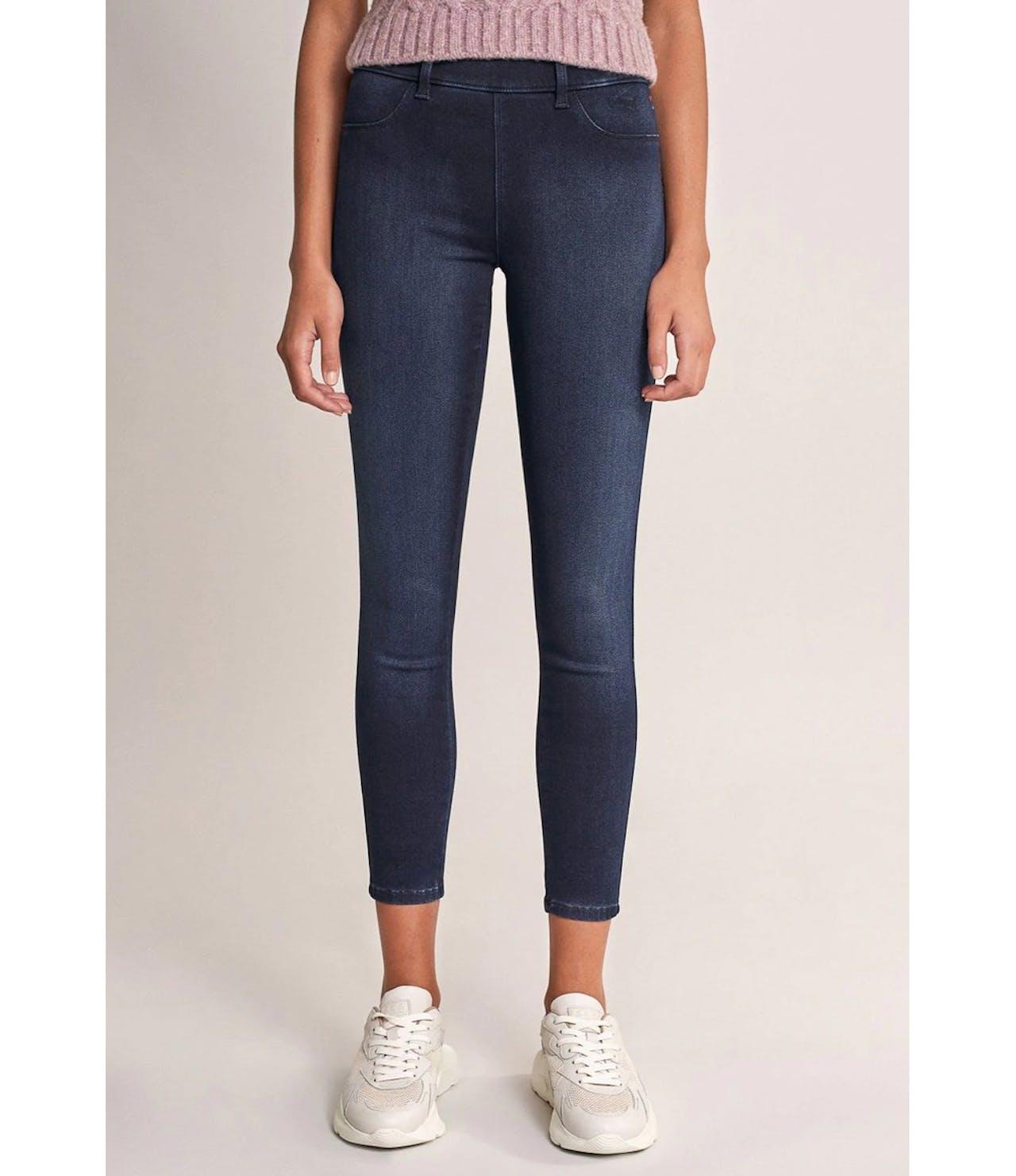 Salsa Jeans 28 Leg Push Up Wonder Medium Waisted Capri Jeggings