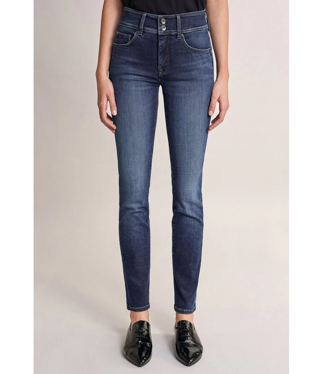 Salsa Jeans 32 Leg Push in Secret Dark Denim Jeans