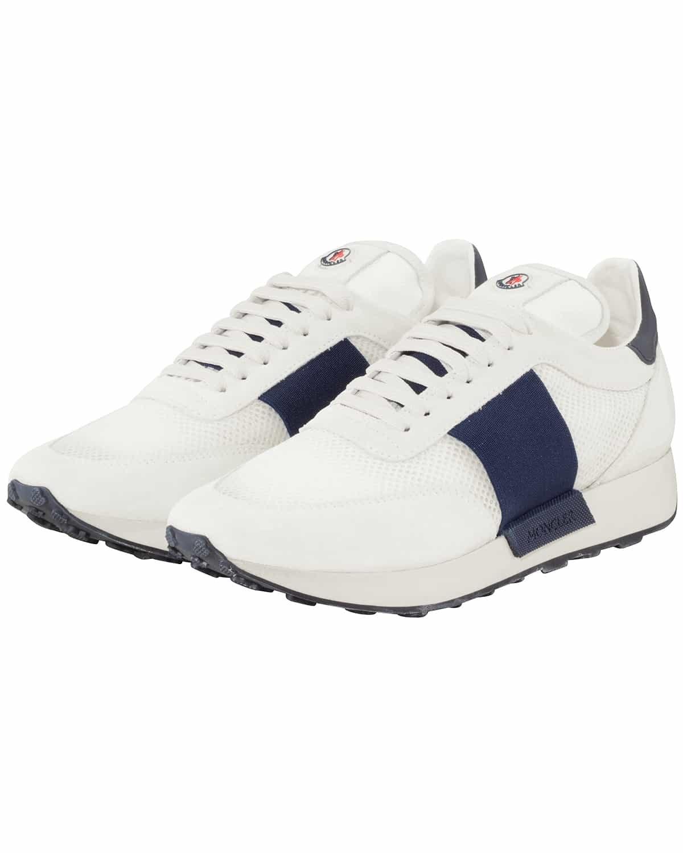 Moncler, Sneaker, Spring-Summer Collection 2019, white, blue, streetstyle, Lodenfrey, Munich