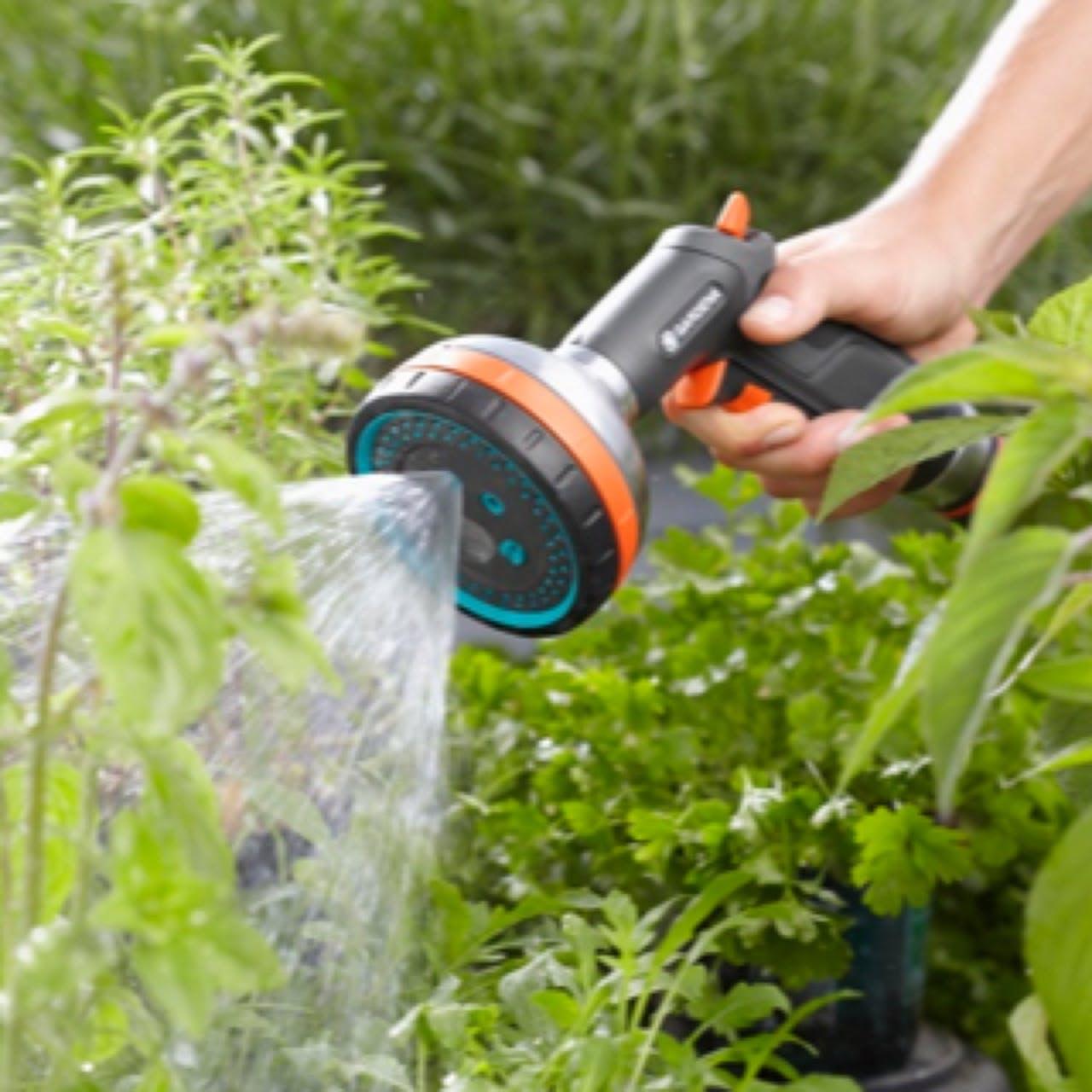 Flymo's watering partner GARDENA