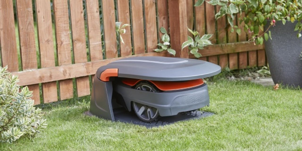 Flymo Bank Holiday Offer- EasiLife 350 robotic mower with FREE House and extra £50 off
