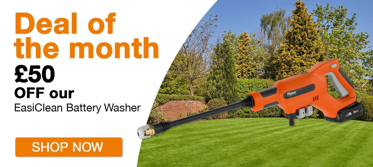Flymo Deal of the Month - Save £50 off the EasiClean Batter Washer