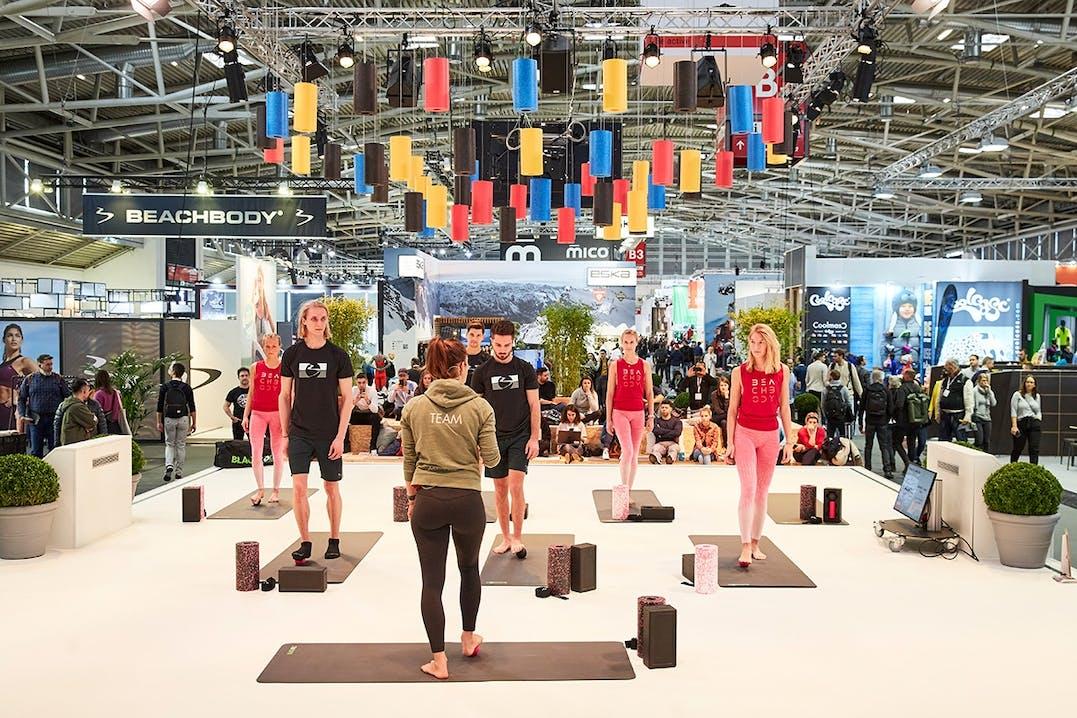 Aktiv sein bei der ISPO München