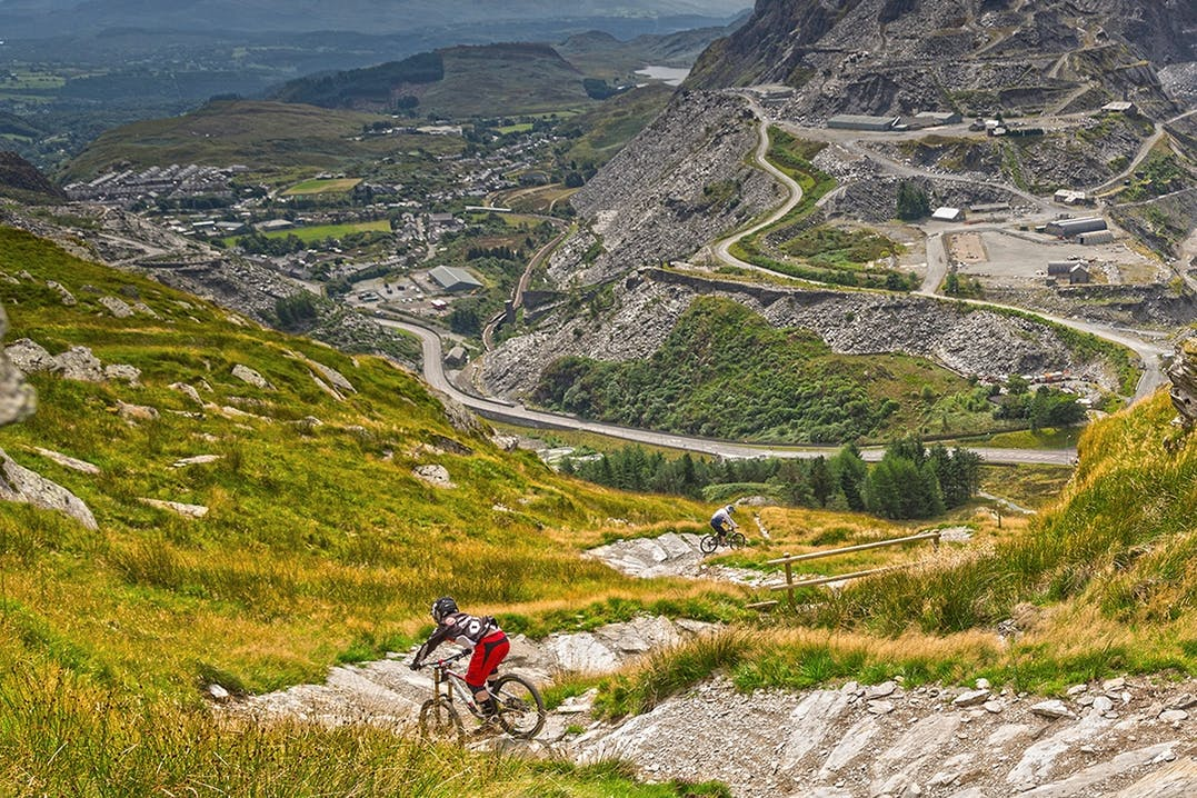 Mountainbiking im Snowdonia Nationalpark