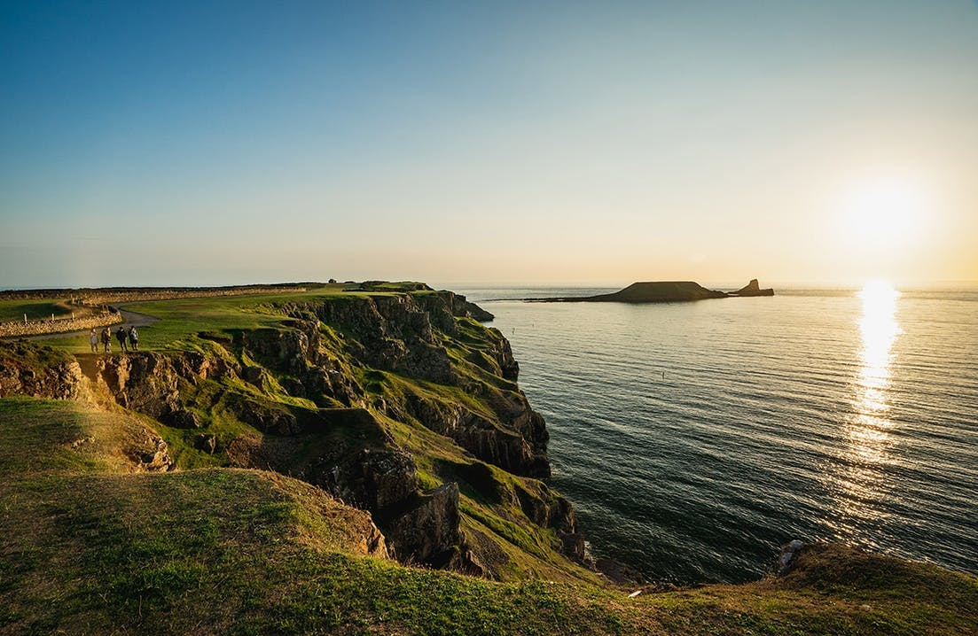 Worm's Head, Halbinsel Gower