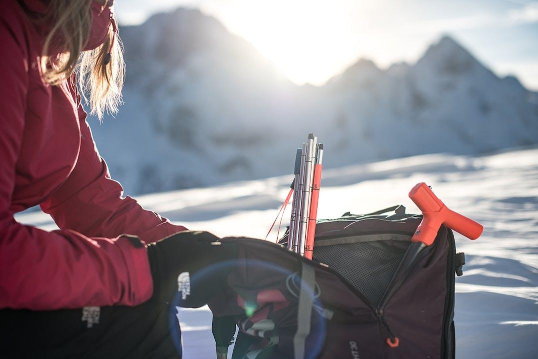 Skitouren Rucksack