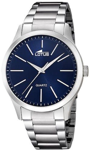 Cette montre LOTUS se compose d'un Boîtier Rond de 42 mm et d'un bracelet en Acier Gris