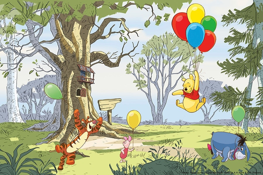 Winnie the Pooh - Up and Away