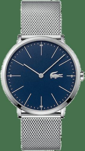 Cette montre LACOSTE se compose d'un Boîtier Rond de 40 mm et d'un bracelet en Acier Gris