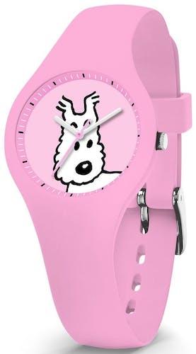 Cette montre ICE-WATCH se compose d'un boîtier Rond de 29.45 mm et d'un bracelet en Silicone Rose