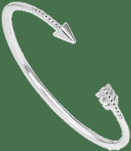 Bracelet TIPY Argent 925/1000 Oxyde Blanc