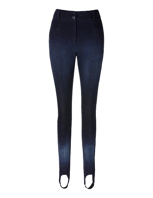 Jeans-Steghose