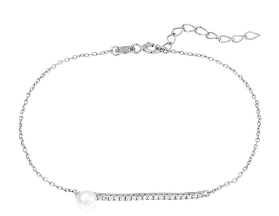 Bracelet PERLE DE NUIT Argent 925/1000 Perle Blanc
