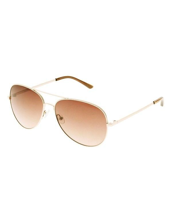 Damen Pilotenbrille mit getönten Gläsern