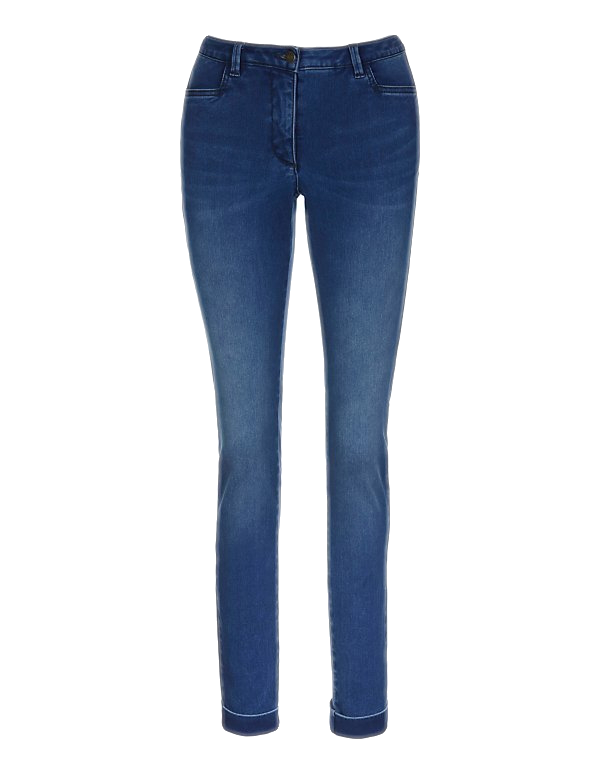 Schmale Stretch-Jeans