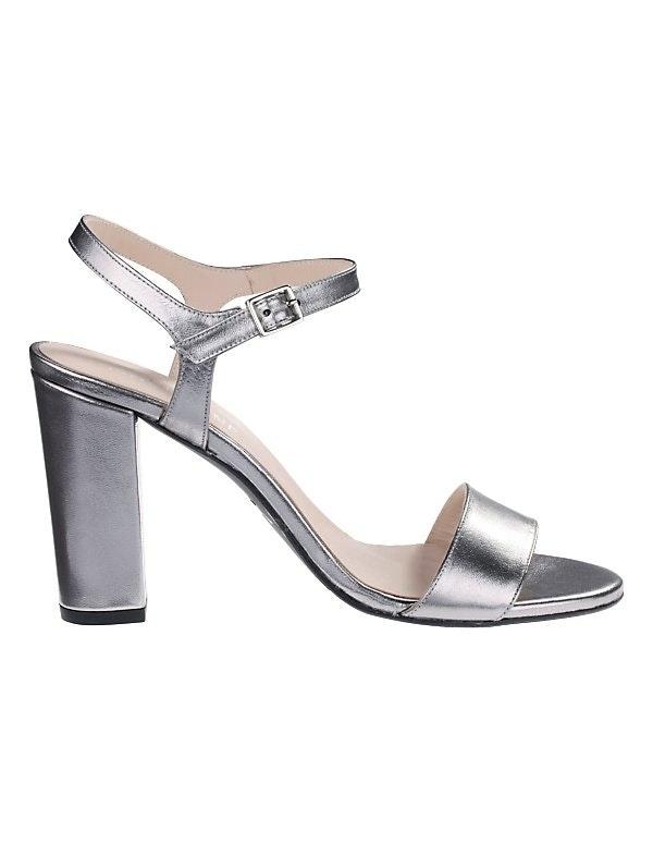 Sandalette mit hohem Blockabsatz