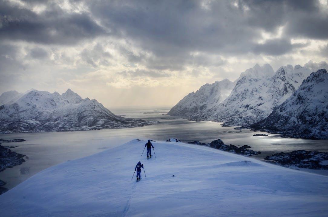 Michi-Wohllleben-Lofoten-Primaloft-Skitour