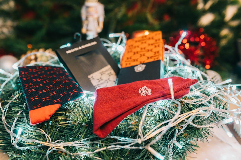 Chaussettes colorées en coton Melvin & Hamilton