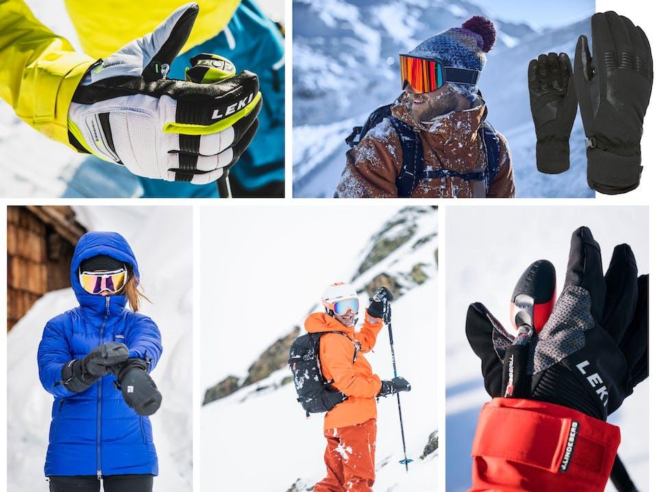Skitourenhandschuhe Nose Wiper