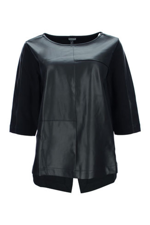Veggie Leather Bluse