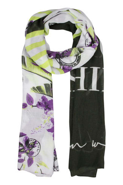 Blütenprint Schal