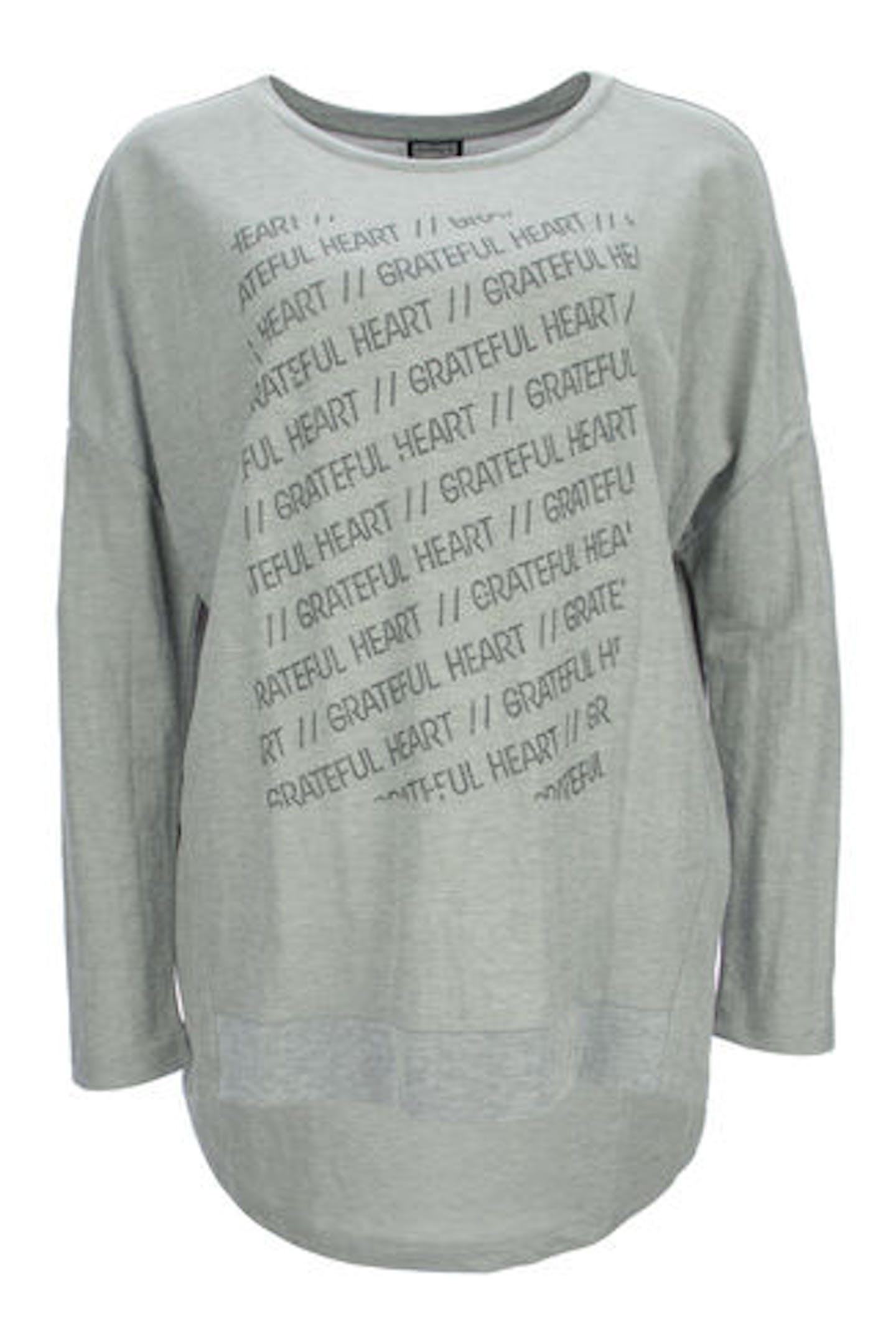 Sweatshirt mit Steinchen