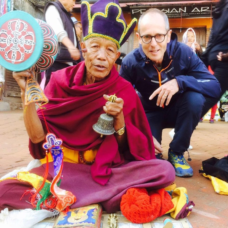 Peter Hinze in Nepal