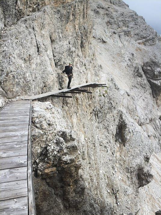 Dolomiten-Klettersteig-Ivano-Dibona