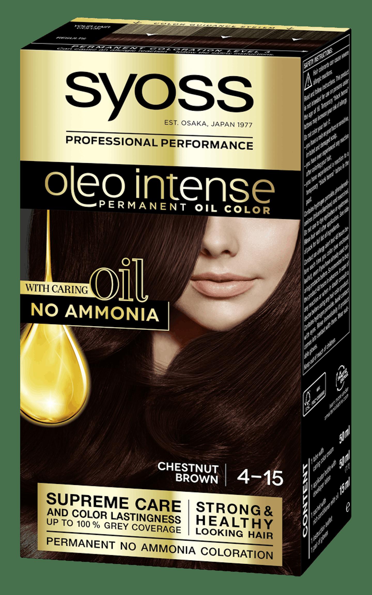 Syoss Oleo Intense Kestenjasto smeđa 4-15