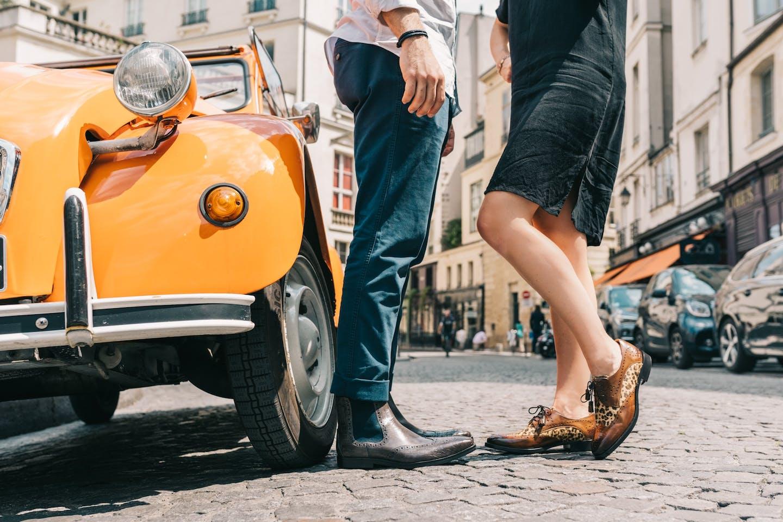 Leren schoenen met Britse inspiratie Melvin & Hamilton