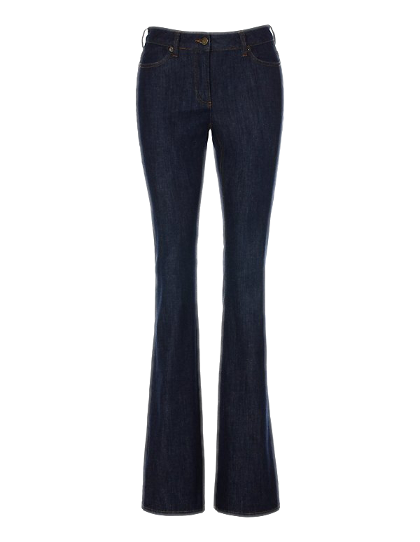 Bootcut-Jeans aus Cotton-Stretch