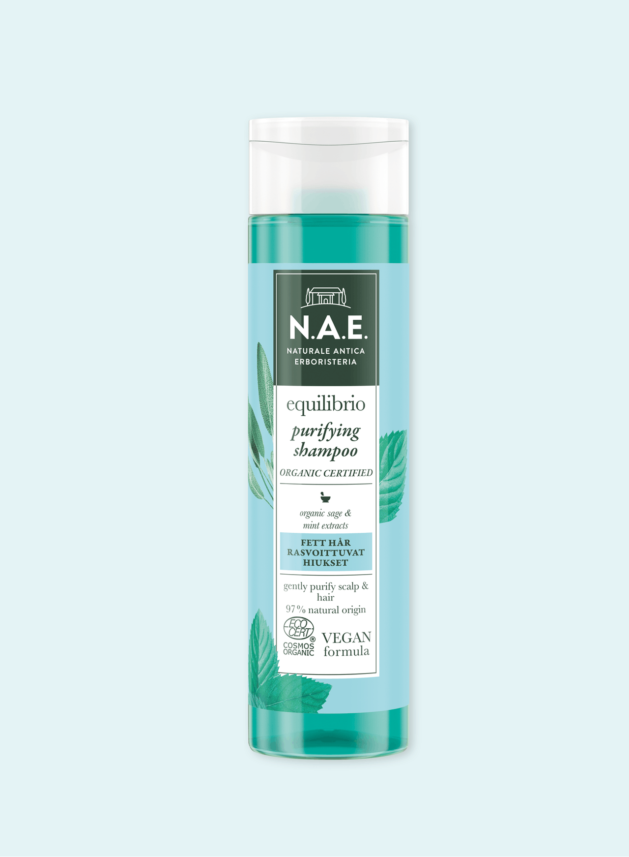 Puhdistava shampoo