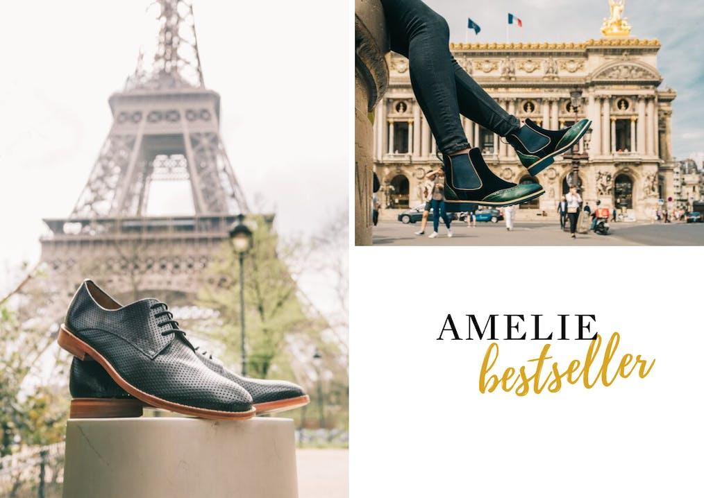 Famille de chaussures Amelie Melvin & Hamilton