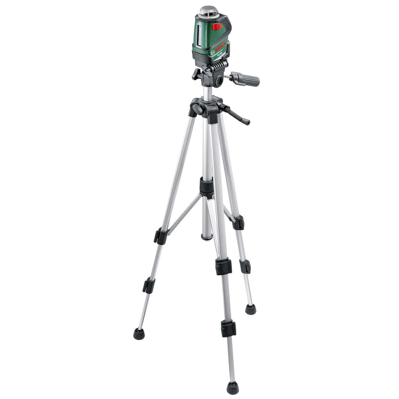 Bosch Linienlaser PLL 360 Set inkl. Stativ, Tasche & Batterien