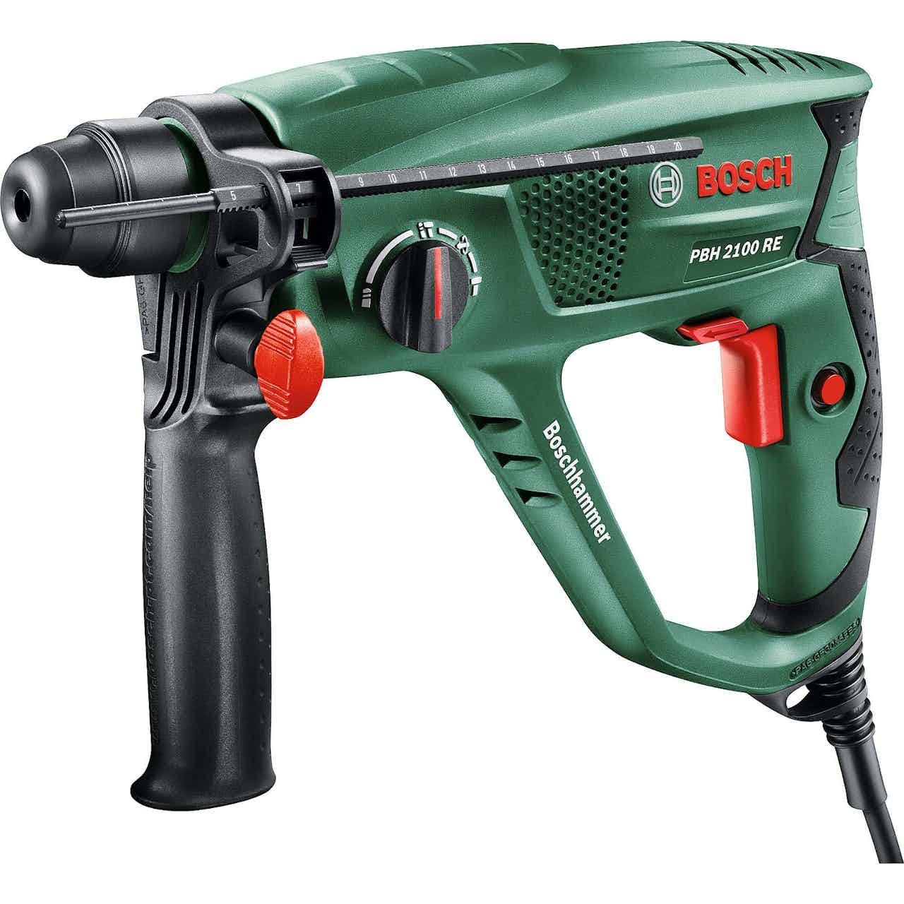 Bosch Bohrhammer PBH 2100 RE mit SDS-Plus und Vario-Lock 550 W