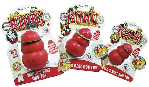 Kong - Hundespielzeug - Classic Rot