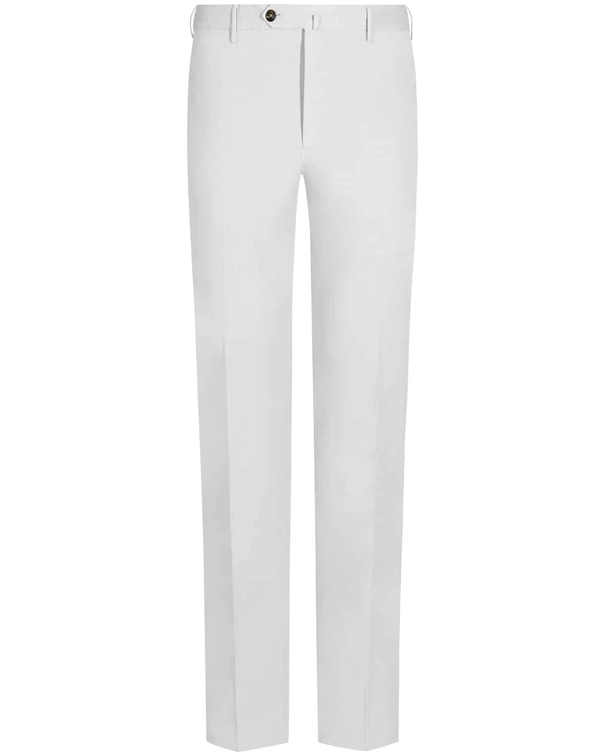 PT 01, Spring-Summer Collection 2019, Chino, white, weiß, Hose, Slim Fit,