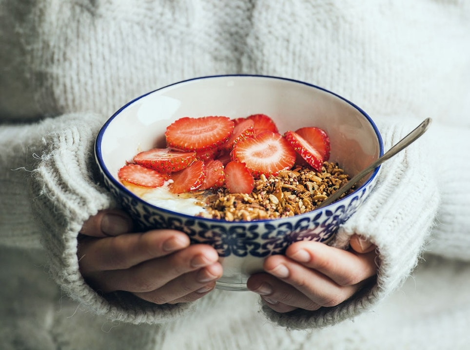 Müsli als ideales Frühstück beim Wandern