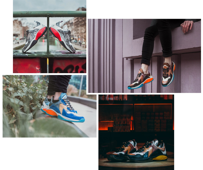 Trendy Sneakers Melvin & Hamilton