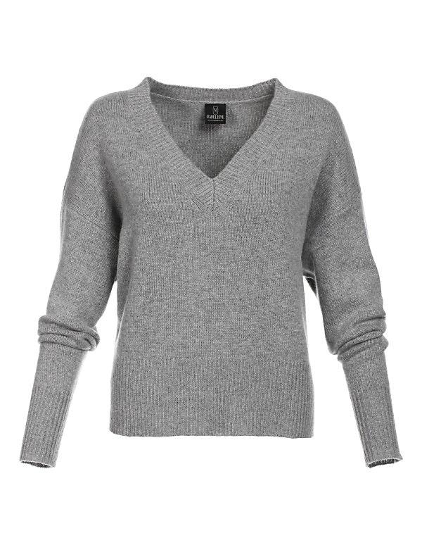 Kaschmir-Pullover im Boxy-Style