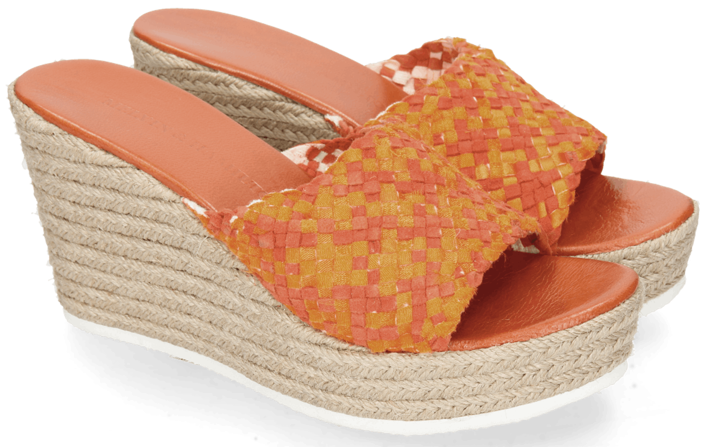 Abby 1 Woven Satin Orange