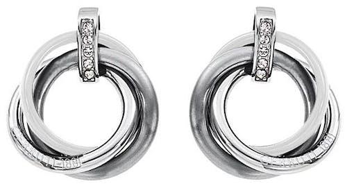 Ces Boucles d'oreilles CERRUTI 1881 sont en Acier