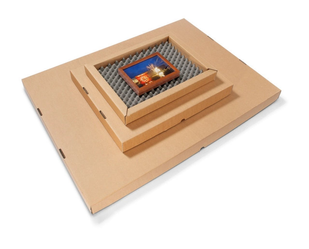 Schaumverpackung für Bilder und Flaches