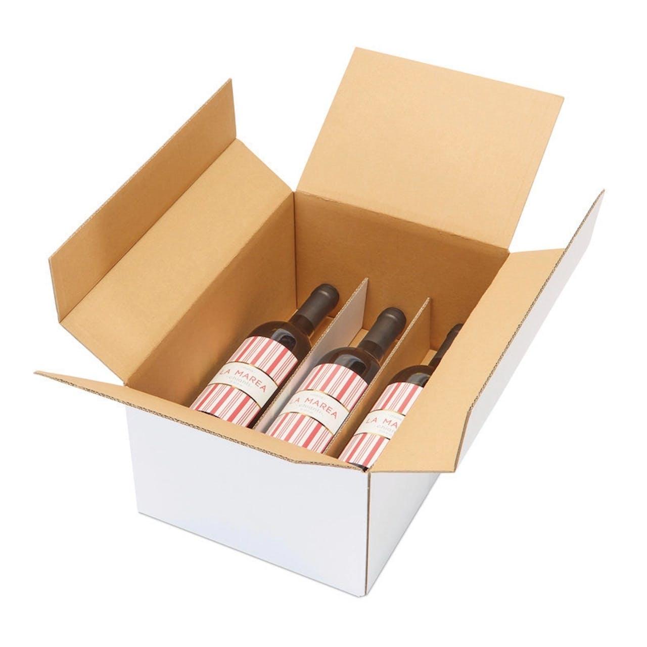 Weinflaschenkarton, liegend, VAR: FKL6