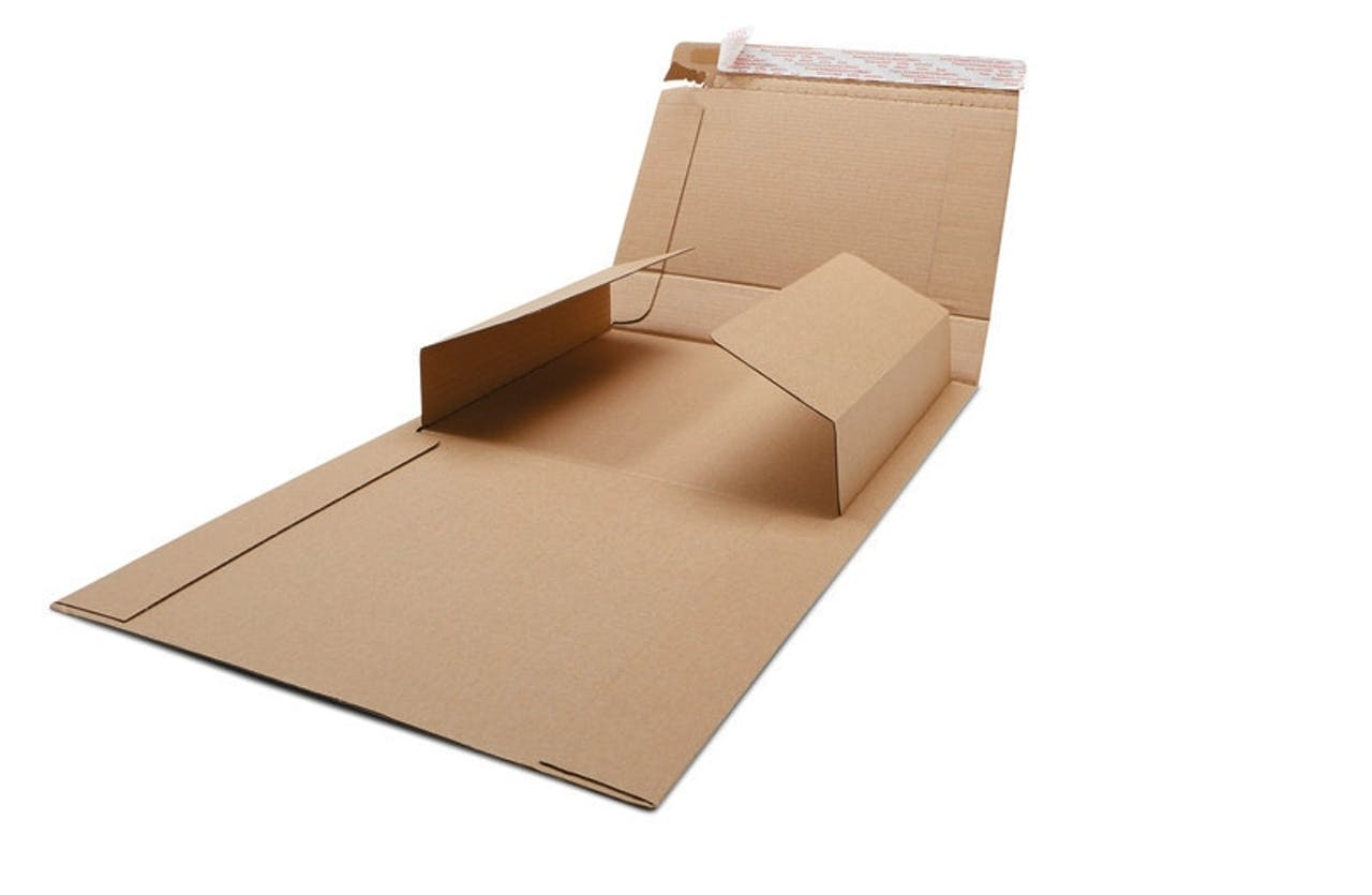 Buchverpackung, Klappmechanik ECONOMY