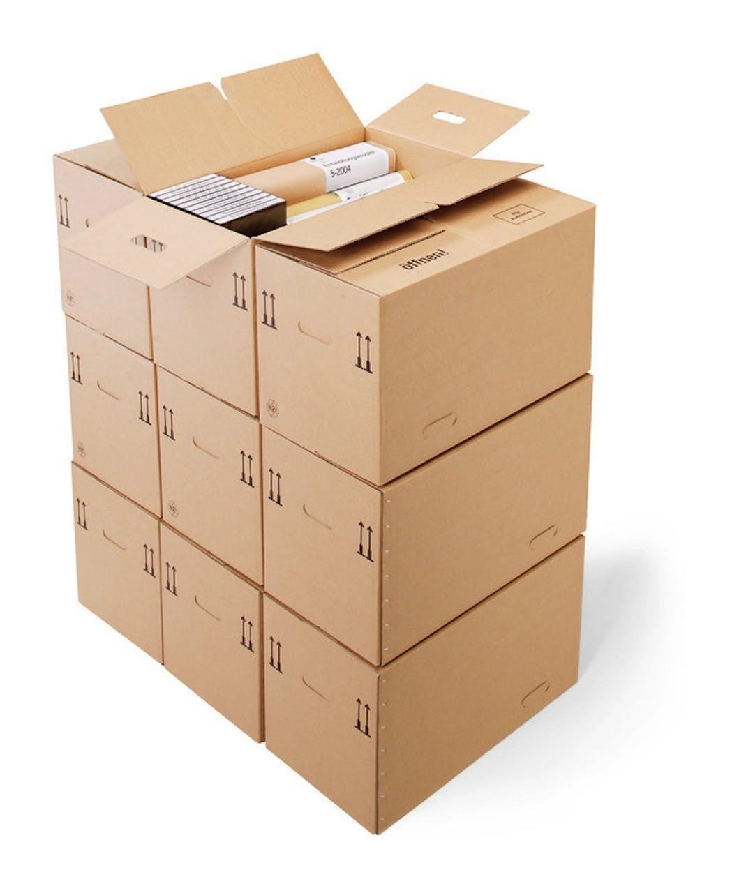 Archiv-Lager-Box