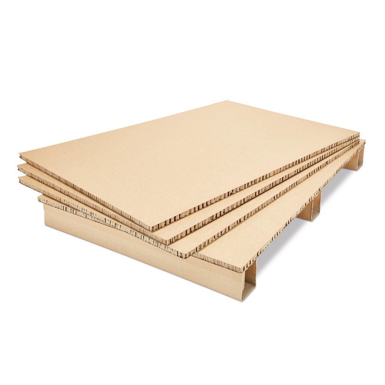Spar-Sets Wabenplatten-Palette terra mit Zwischenlagen, VAR: wbpp11