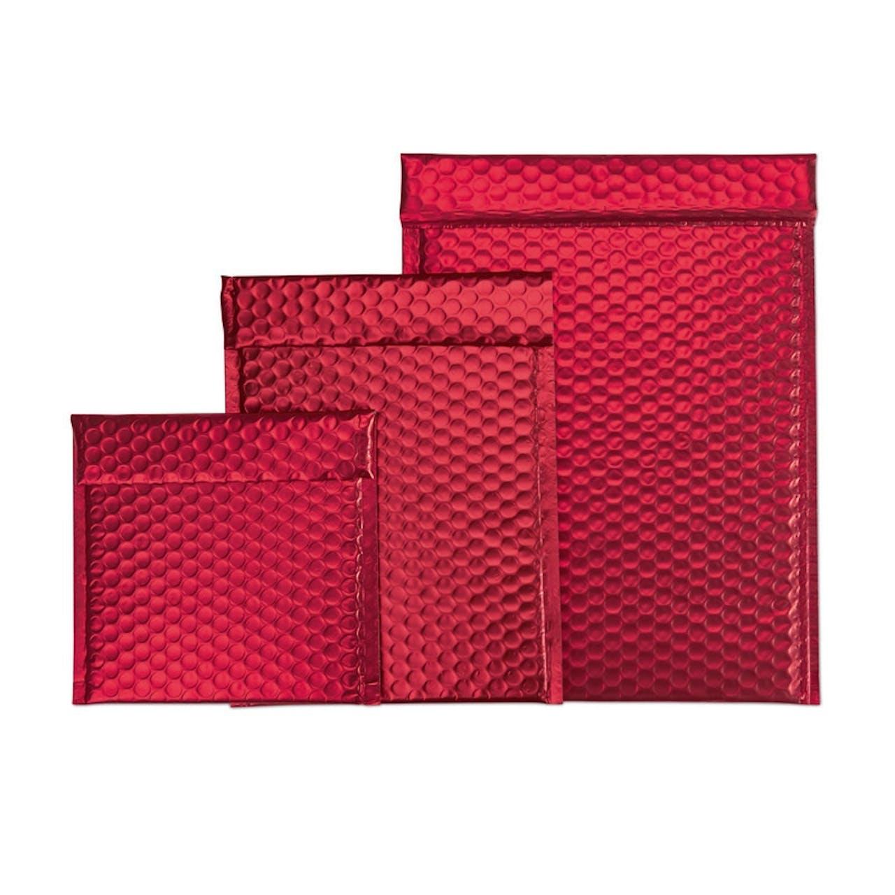 Luftpolster-Geschenktasche rot, VAR: lg02-13